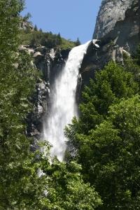 Bridal Veil Falls in Yosemite.  Photo credit: dkbonde