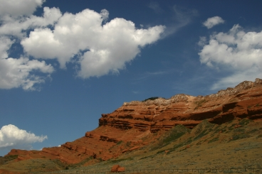 Wyoming escarpment